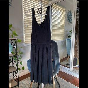 Arbor dark gray skater dress